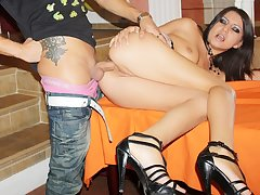 Teen threesome after billiards game